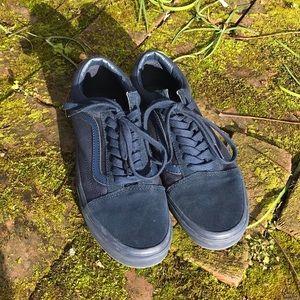 Navy Blue Vans Old Skool d49474f9a